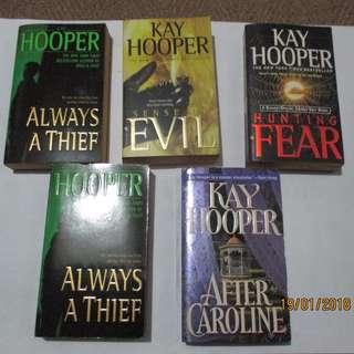 Kay Hooper Paperbacks, Preloved Book/Books, Softbound