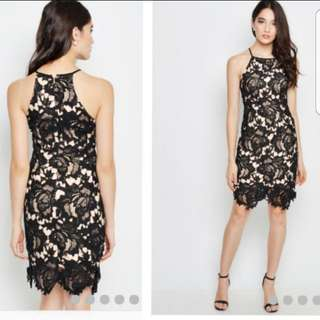 BN Love and Bravery Stolen kisses lace dress