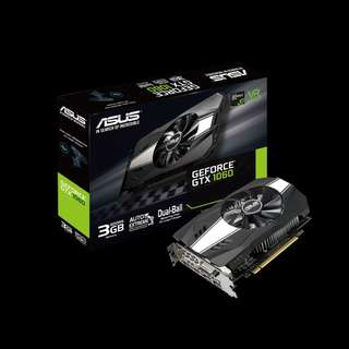 ASUS Phoenix GeForce® GTX 1060 3GB (PH-GTX1060-3G)