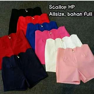 Scallop hp all size
