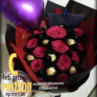 Chocolate Bouquet rose bouquet valentine gift