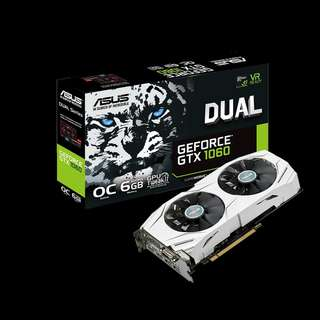 ASUS Dual series GeForce® GTX 1060 OC 6GB (DUAL-GTX1060-O6G)