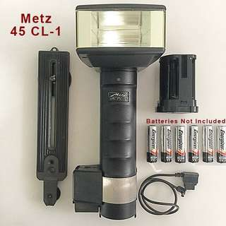 Metz camera Flash model 45CL-1
