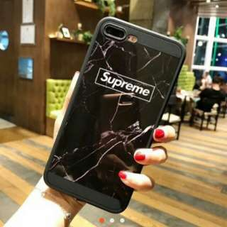 Supreme Marble Case Iphones only