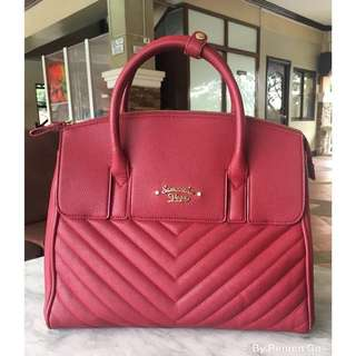 Authentic Samantha Vega 4-Way Red Bag