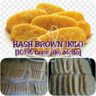Hash Brown Mcdo 15pcs