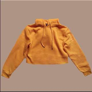 Cropped hoodie (orange)