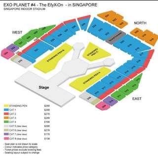 WTB : exo elyxion cat 1 tickets