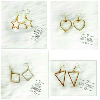 Assorted Shapes Drop Earring