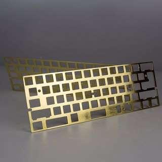 KBDFANS brass plate