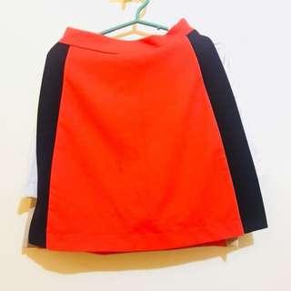 Orange Short / Skirt