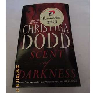 Christina Dodd Paperbacks, Preloved Book/Books, Softbound