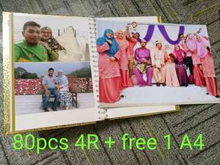 80pcs 4R for only rm80