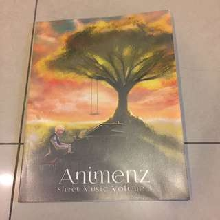 Animenz Sheet Music Volume 3