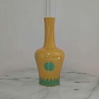 Republic Period Yellow Glazed Vase height 23cm perfect