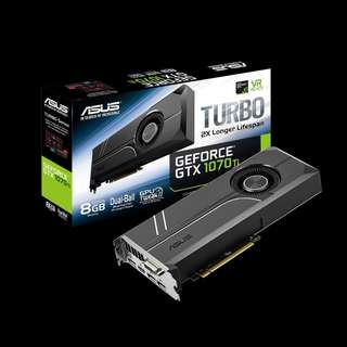 ASUS Turbo GeForce® GTX 1070 TI (TURBO-GTX1070TI-8G)