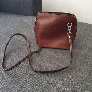 Leather Brown Bag