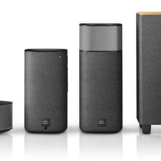 (Installment Plan) Philips 4.1ch Fidelio E5 Wireless Surround Speakers