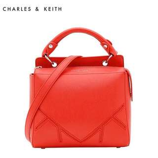 Authentic Charles & Keith Handbag With Sling