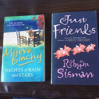Great Reads: Pre-loved Novels x 2