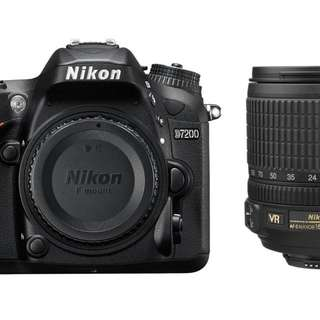 (Installment Plan) Nikon D7200 DSLR Camera with AF-S 18-105mm VR Kit Lens
