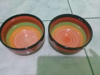 Colorful bowl with design