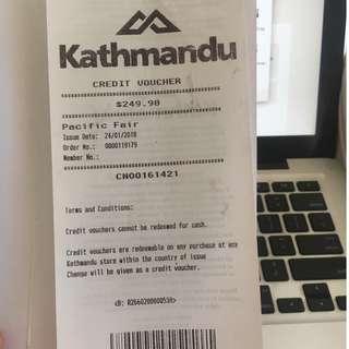Kathmandu Voucher