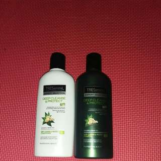 Tresemme deep cleanse and protect shamp9 dan conditioner