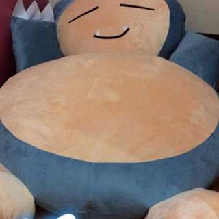 Plush bed, character bed, snorlax bed , cuty bed