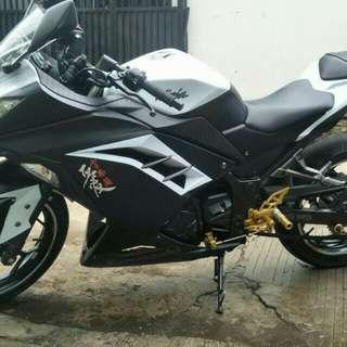 Ninja 250 cc over kredit