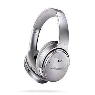 Bose QuietComfort 35 Wireless Headphones - Silver