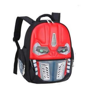Transformer School Bag with light