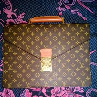 Louis Vuitton Vintage Conseiller Laptop/Docs Bag