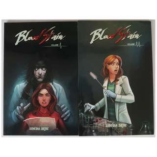 Blood Stain volumes 1 & 2 (graphic novel, ongoing series)