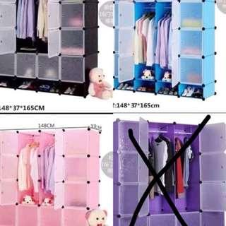 16 cube DIY wardrobe