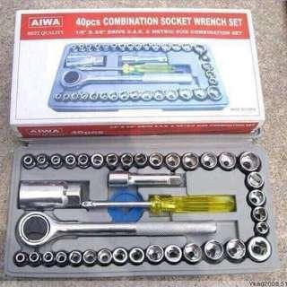 40pcs. Combonation Socket wrench