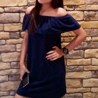offshoulder dress 💗