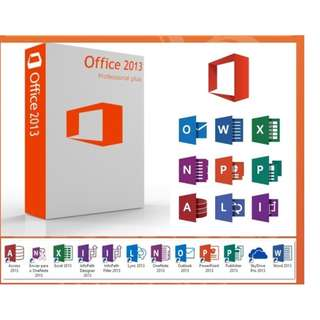 Hot  Office 2013 Pro Plus (Genuine Activation Keys)