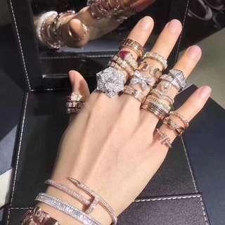 頂級珠寶訂製,100% 真金真鑽 附有證書。