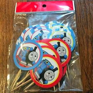 "30pcs ""Thomas"" theme cupcake toppers"