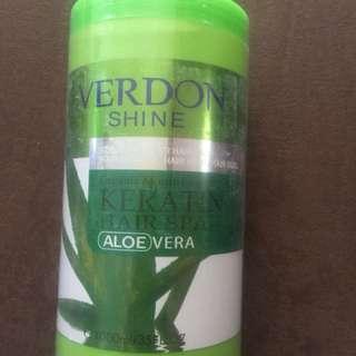 Organic verdon keratin hair spa
