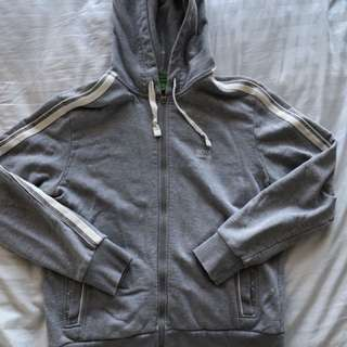BOSS Green label grey hoodie
