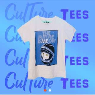 """Culture Tee """"The Future is Meow"""""""