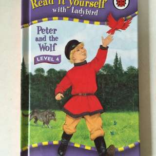 Ladybird book Peter and the wolf