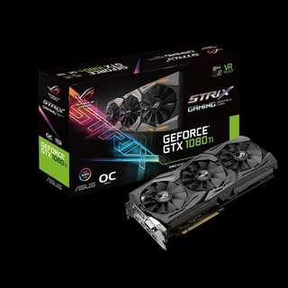 Asus ROG Strix GeForce® GTX 1080 Ti OC 11GB GDDR5X (ROG-STRIX-GTX1080TI-O11G-GAMING)