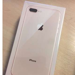 [box not opened] iPhone 8 Plus 64GB Gold