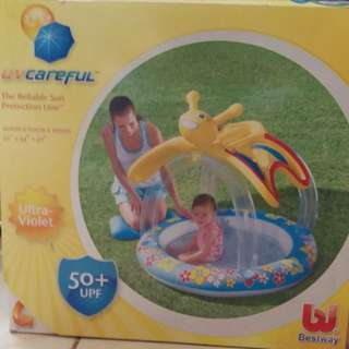 Bestway UV 50+UPF sun protection pool