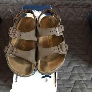 Kids shoes/ sandals - Birkenstock Roma Kinder size 28-brown : sepatu anak
