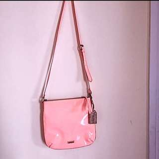 Aldo sling bag peach,size medium