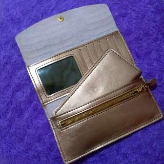 Leather Light Chocolate/Brown Wallet